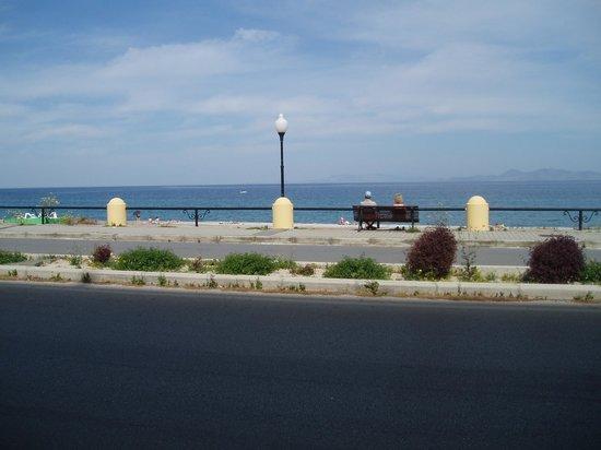 Hotel Rhodos Horizon Resort : uitzicht vanuit hotel