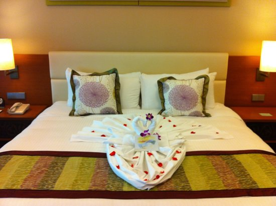 Shangri-La's Rasa Ria Resort & Spa: Our warm welcome