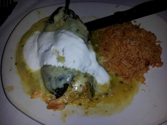 Cyclone Anaya's Mexican Kitchen: Roasted Chicken Chile Relleno