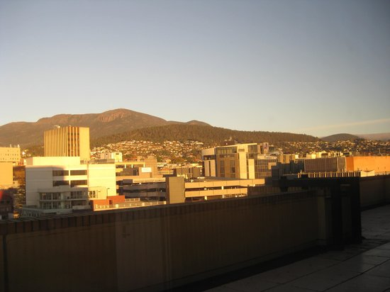 Grand Chancellor Hotel Hobart: View from our room