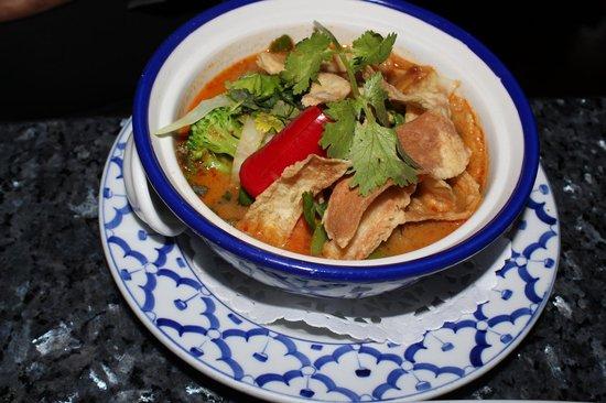 Bangkok Garden Restaurant: laksa