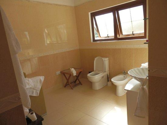 BayView Seychelles : salle de bains sans baignoire