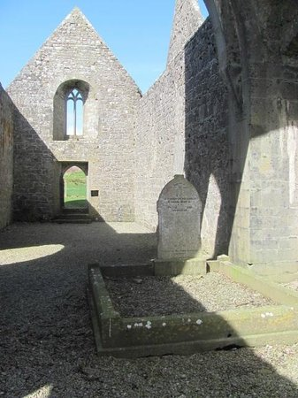 Rosserk Friary: View From Inside the Friary