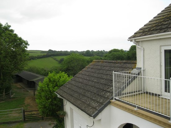 Moreton House: View from bedroom balcony