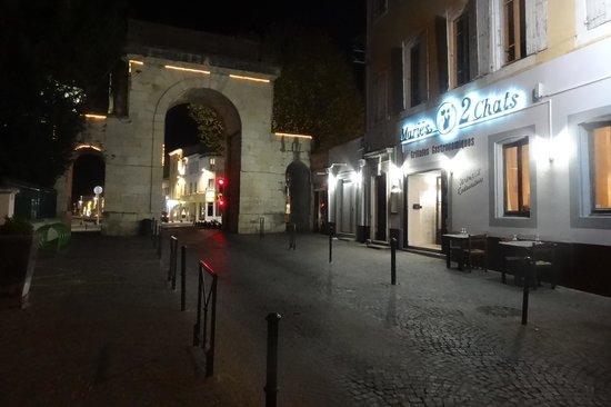 Montelimar, France: Situation du restaurant