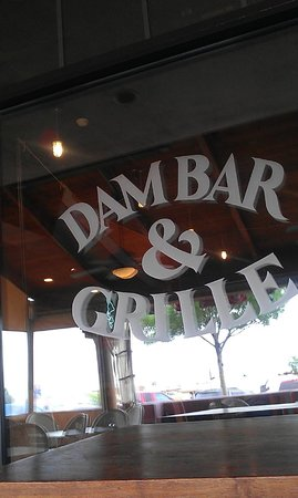 Dam Bar & Grille: OUTSIDE WINDOW