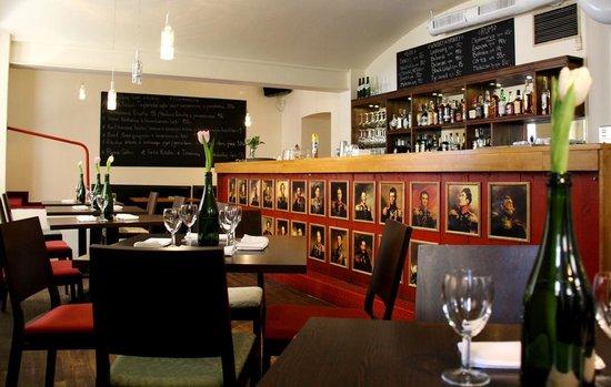 Cafe Ermitage: interior