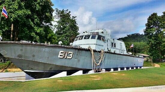 Khao Lak, Thailand: Police Boat T 813