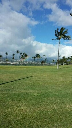 Navy Lodge Hawaii: view from just outside our room