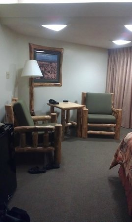 Best Western East Zion Thunderbird Lodge: King sized room