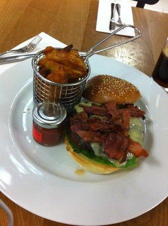 Tas Borough High Street: Hamburger