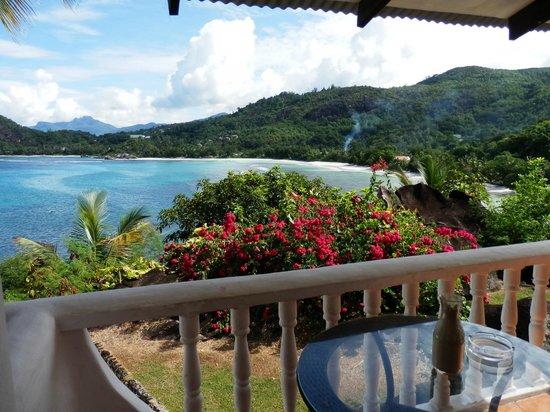 Lazare Picault Hotel: vue de la terrasse