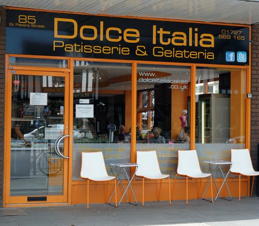 nice shoes 0a7c7 a9f75 An Authentic Italian Coffee Shop in St Albans! - Dolce ...