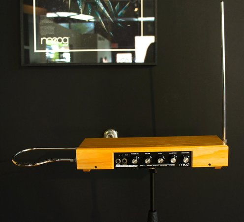 Moog Music Factory Tour: Etherwave Theremin