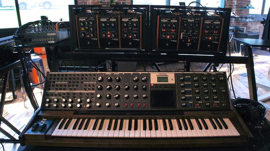 Moog Synthesizer - Picture of Moog Music Factory Tour