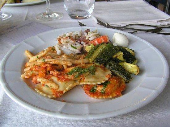 Park Hotel Cala di Lepre & Spa: Abendessen