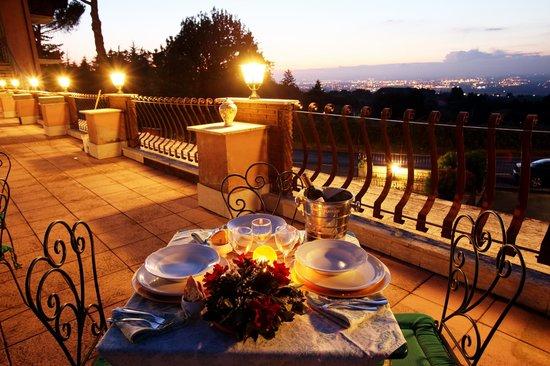 L'Ottava Hotel: La terrazza