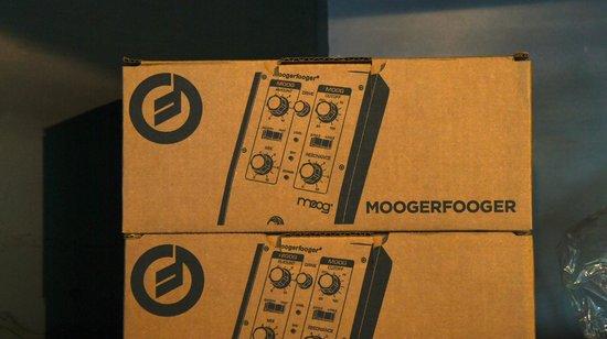Moog Music Factory Tour: Moog Merchandise - Moogerfoogers