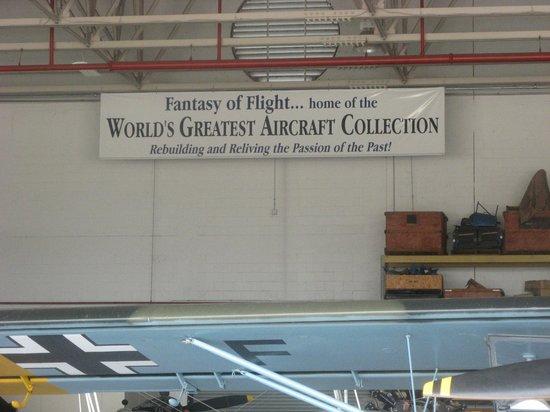 Fantasy of Flight : 2de hangar