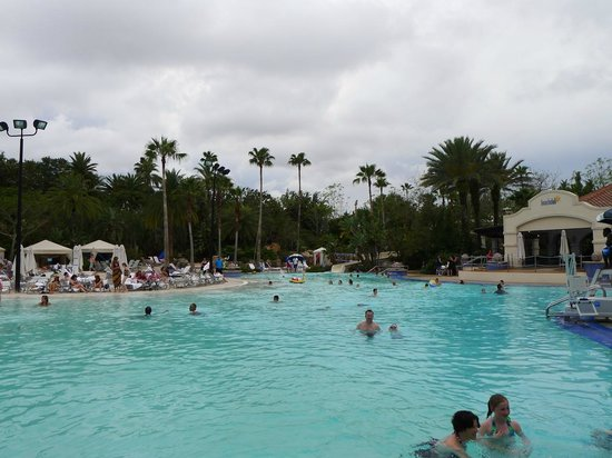 Hard Rock Hotel at Universal Orlando: Magnificent pool