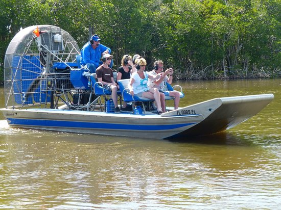 Everglades City Airboat Tours : L'hydroglisseur