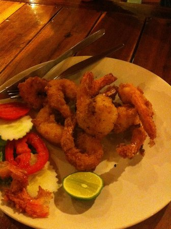 Khaolak Seafood Family House : Fritters de crevettes
