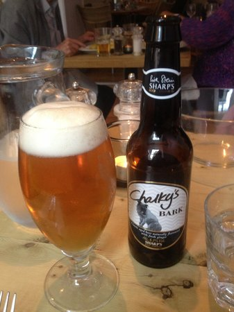 Rick Stein's Cafe: Lovely beer
