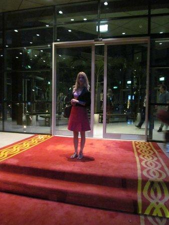 Rixos The Palm Dubai: The entry of the hotel