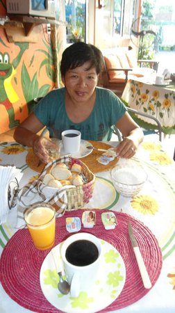 Crazy summer: desayuno  muy rico