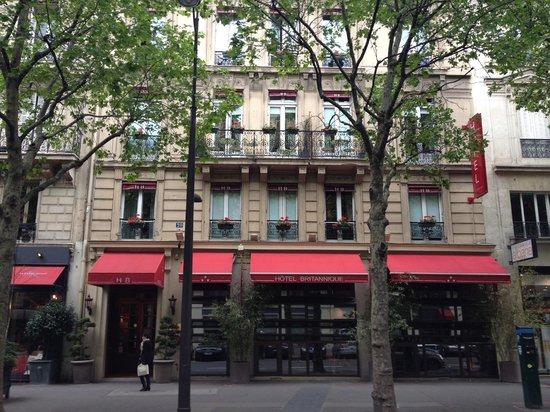 Hotel Britannique: Front of hotel