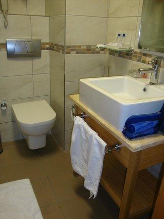 Hotel Venera: Banheiro tb minúsculo