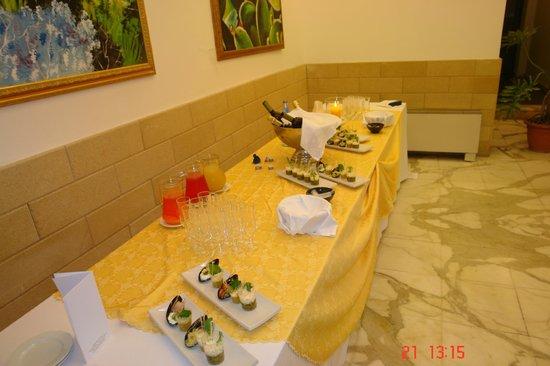 Hotel Villa D'Amato: L'aperitivo