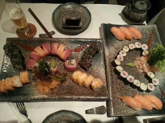 YEN'S: sushi variado