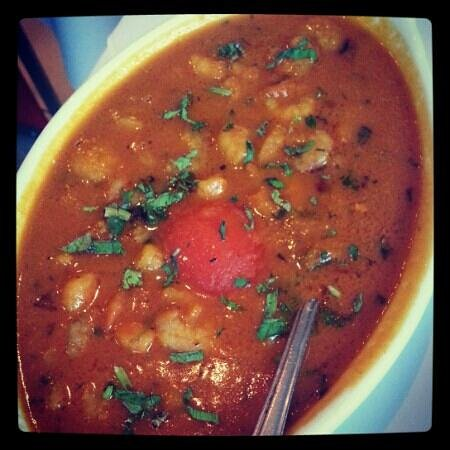 Tandoori Raj: prawn curry