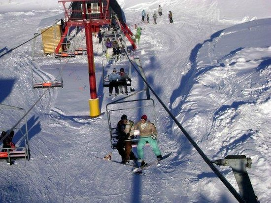 Lac La Hache, Canada: chair lift