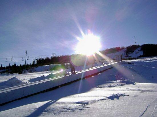 Mt Timothy Ski Area : bunny hill
