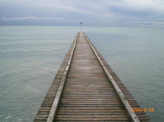 Hotel Conchiglia: ....Stille am Meer...