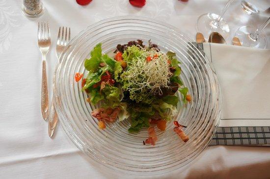 Hotel Restaurant Hammer: Gartensalat
