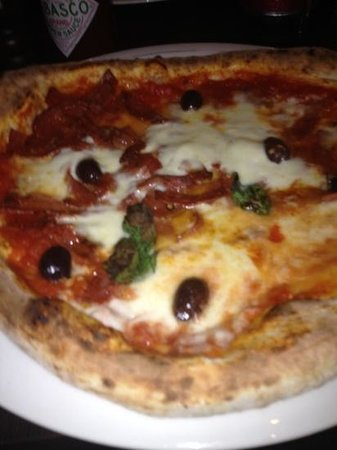 That's amore: Pizza diavolo