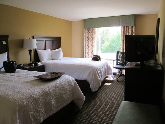 Hampton Inn & Suites Prattville : pretty room, comfy beds