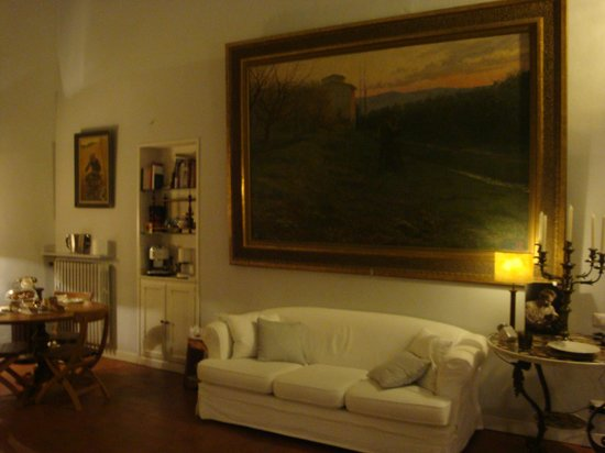 Casa Schlatter: Lounge & Breakfast room
