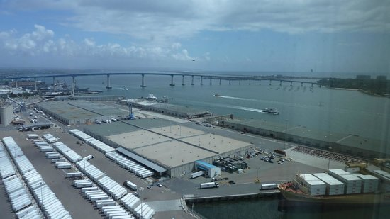 Hilton San Diego Bayfront: view from room 27-62