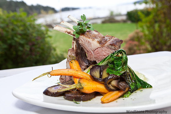 Harbour House Restaurant : Local Lamb and Farmed Vegetables