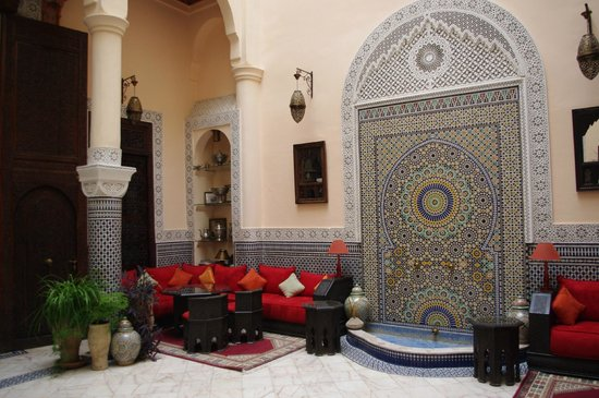 Riad Ibn Battouta: Patio
