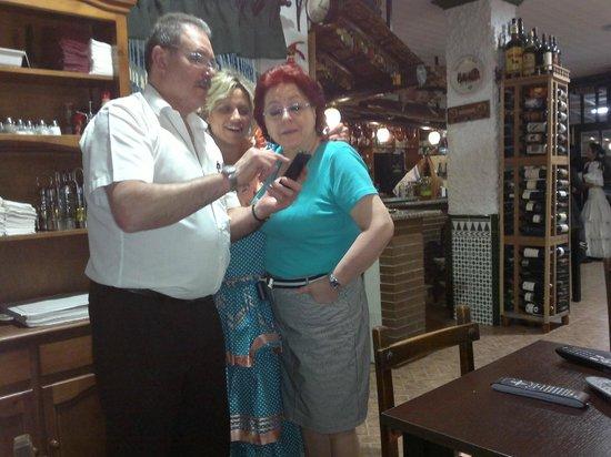 La Cabana: Die Geschäftsleitung