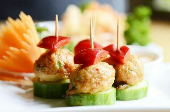 Baitong Thai Cuisine: new menu ; Fish balls