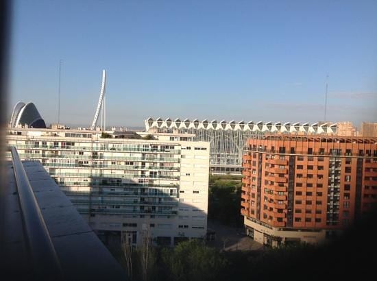 Tryp Valencia Oceanic Hotel:  room with a view ?