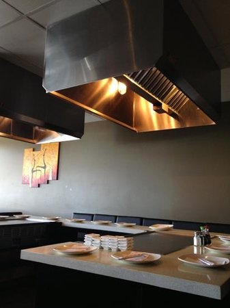 Soto: Iron Griddle Table Area