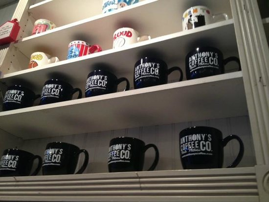 Anthony's Coffee Co Incorporated: Gift shop