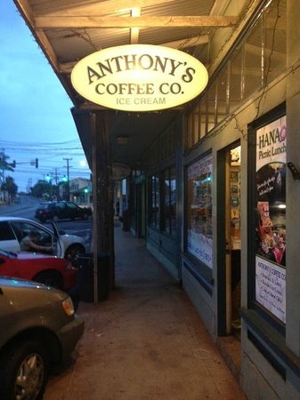 Anthony's Coffee Co Incorporated: Sign out front